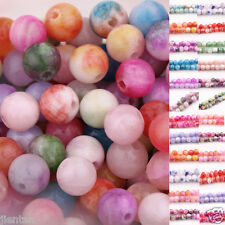 Nice Glass Persia Jade Round Loose Spacer Bead Charms 18 Color Or Mixed 6/8/10mm