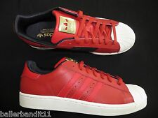 Adidas Superstar II shoes mens new  sneakers red D74391