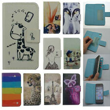 For LG case Wallet Card DELUXE leather cartoon cute Cover