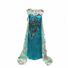 Frozen Fever Inspired Elsa Dress Elsa Costume