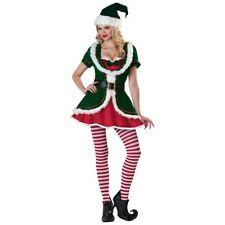 Sexy Elf Costume for Women Adult Christmas Outfit Fancy Dress