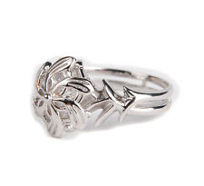 THE LORD OF THE RINGS GALADRIEL NENYA RING SILVER PLATED RING SIZE 8-36100