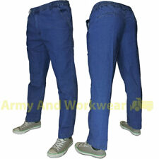 Fully Elasticated Waist Jeans Mens Stretch denim Smart Leisure Pants Trousers