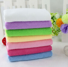 Microfiber Absorbent Drying Bath Beach Towel Washcloth Swimwear Shower 70x140cm