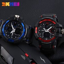 SKMEI Cool Waterproof Variety Colors Band  LED Digital Sports Men's Wrist Watch