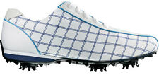 Ladies FootJoy LoPro Golf Shoes 2015 White/Blue 97214 Womens CLOSEOUT New