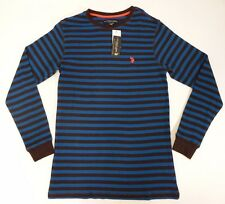 Mens Shirt U.S. Polo Assn. Stripe Long Sleeve Various Colors and Sizes