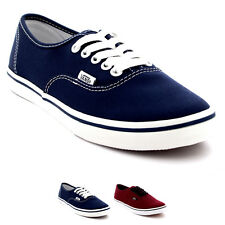 Womens Vans Authentic Lo Pro Plimsolls Canvas Lace Up Shoes Trainers UK 2.5-9