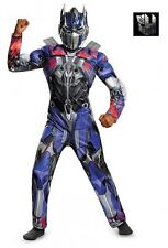 Transformers Optimus Prime Classic Muscle Child Costume Small Medium Large fnt