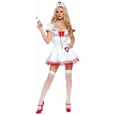 Nursie Nurse Costume Halloween Fancy Dress