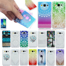 Cute Design Pattern Various Back Case Cover For Samsung Galaxy Phones Soft Skin