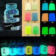 10g 50g 100g Glow in the dark sand Multi-Color For Lover's Romantic Decoration