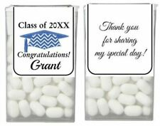 2017 GRADUATION Party Favor Personalized MINI TIC TAC Labels Stickers Wrappers