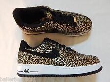 Mens Nike Air Force 1 shoes new 488298 702 gold