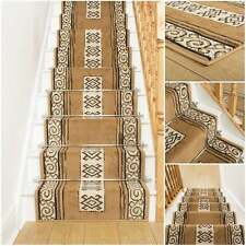Temple Berber - Stair Carpet Runner For Narrow Staircase Quality Wilton Cheap