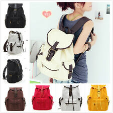 Fashion Women Shoulders Bag Canvas Travel Backpack School bag Camp Travel bags