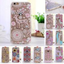 New Soft Silicone TPU Phone Case Cover for Samsung Galaxy Note3/4 S5 6 S6 Edge