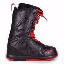 2015 NIB MENS THIRTYTWO SUPER LASHED SNOWBOARD BOOTS $250 black red durable