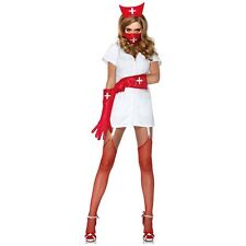Nurse Costume Adult Sexy Scary Halloween Fancy Dress