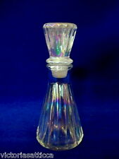 Beautiful Collectible Vintage Opalescent Glass Perfume Bottle