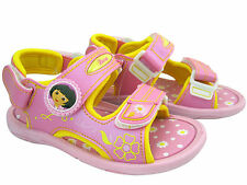 New Dora The Explorer Sandals ~  Girls Casual Shoes Toddler Size US 9 ( 3T )