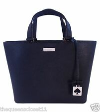 Kate Spade Juno Grant Street Handbag Tote Black Saffiano Leather NWT