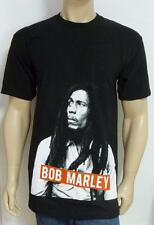 Zion Rootswear Bob Marley Graphic Tee Mens Black 100% Cotton T-Shirt New NWT