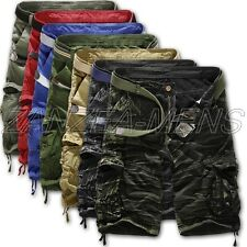 2015 Summer New Men Army Combat CAMO WORK CARGO Pants Shorts Trousers Size 30-38