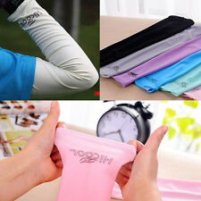 1 Pair Various colors Cooling arm sleeves Sun Protective UV Cover Protection