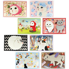 Lovely&Cute Kitty Non-Slip Door Mat Rug Bedroom Kitchen Bathroom Floor Jetoy