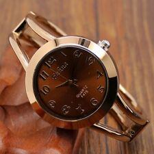 Fashion Simple Quartz Stainless Steel Band Alloy Lady Girl Wrist Watch Gift
