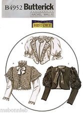 Victorian or Formal Jacket in 2 Lengths Butterick 4952 Costume Sewing Pattern