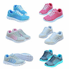 Hot Trendy Womens Lace Up Running Sport Sneakers Trainer Shoes Casual Outdoor