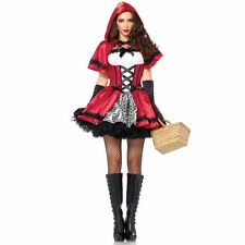 Sexy Gothic Red Riding Hood Costume for Women