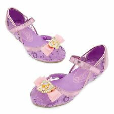 Disney Store Princess Tangled Rapunzel Girl Costume Dress Shoes Size 13/1