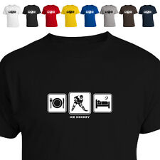 Ice Hockey Stick Pads Gift T Shirt Daily Cycle 011