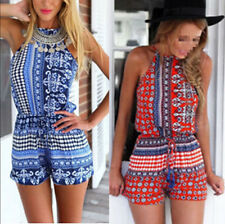 New Women Summer Clubwear Playsuit Celeb Evening Party Jumpsuit Romper Trousers