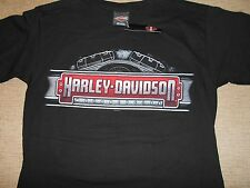 NWT Harley Davidson Classic Metal T Shirt Short Sleeve Size S Black