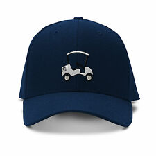 Golf Cart Sport Embroidery Embroidered KID CHILDREN SIZE Adjustable Cap Hat