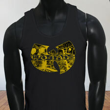 Rap Hip Hop Gza Rza ODB WU TANG CLAN COMICS Mens Black Tank Top