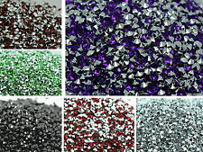 wholesale Rhinestone Gem 4mm Cone line 500pcs Crystal Resin Bead