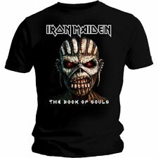 IRON MAIDEN The Book Of Souls T-shirt Black New & Official Eddie S M L XL XXL