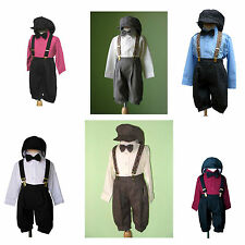 Boys Infant Toddler Knickers Vintage Outfit Sets, All colors, Sz: 6 Month to 4T