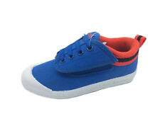 Boys Shoes International Volleys Blue/Orange Size 6-12 Canvas Shoe