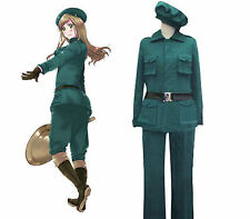 APH Axis Powers Hetalia Hungary Soldier Uniform Cosplay Costume Halloween Outfit