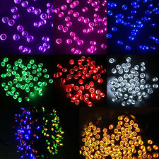 10-100 Led Solar/Battery Power Fairy Light String Strip Lamp Party Xmas Garden