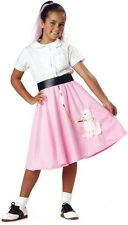 Child Girls 50'S Poodle Skirt Halloween Costume