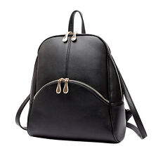Lady New  Backpack Student Travel Bag Faux Leather Knapsack School bag Rucksack