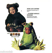 Toddlers Bear & Frog Jumpsuit Costume - McCall's 7842 Sewing Pattern - Tom Arma