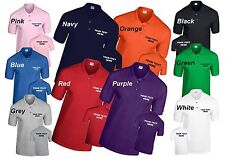 Custom Printed Personalised Polo Shirt Stag do,Hen do,work,leisure Polo Shirts